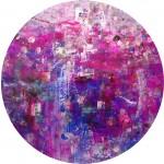 Circular. 409. Mixta sobre papel. 100 cm x 100 cm. 2009.