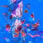 Del paisaje III. Mixta sobre papel. 50 cm x 50 cm. 2010.