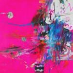 Del paisaje IV. Mixta sobre papel. 50 cm x 50 cm. 2010.