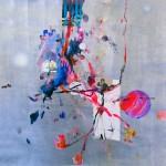 Del paisaje V. Mixta sobre papel. 50 cm x 50 cm. 2010.