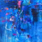 Del paisaje XV. Mixta sobre papel. 50 cm x 50 cm. 2010.