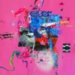 Del paisaje XXVI. Mixta sobre papel. 50 cm x 50 cm. 2010.