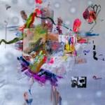 Del paisaje XXVIII. Mixta sobre papel. 50 cm x 50 cm. 2010.