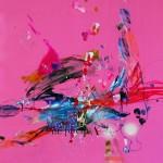 Del paisaje XXX. Mixta sobre papel. 50 cm x 50 cm. 2010.