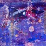 Delicatesse 401. Mixta sobre papel. 140 cm x 140 cm. 2010.
