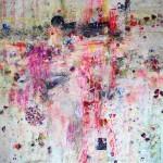 Delicatesse 403. Mixta sobre papel. 140 cm. x 140 cm. 2010.