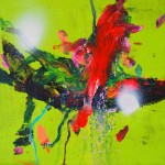 Delicatessen 11. 20 cm x 20 cm. Acrílico sobre lienzo. 2011