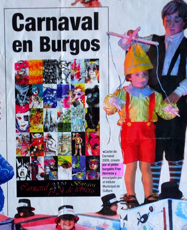 Diseño del Cartel de Carnaval 2009.
