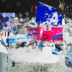 FH 312. Mixta sobre papel. 60 cm x 60 cm. 2008.