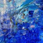 FH 417-09. Mixta sobre papel. 135 cm x 100 cm. 2009