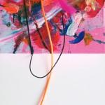 Giverny 21. 20 cm x 20 cm. Acrílico y mixta sobre lienzo. 2012.
