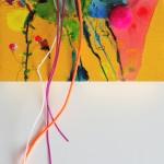 Giverny 26. 20 cm x 20 cm. Acrílico y mixta sobre lienzo. 2012.