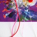Giverny 29. 20 cm x 20 cm. Acrílico y mixta sobre lienzo. 2012.