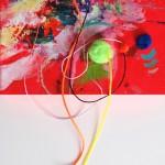 Giverny 33. 30 cm x 30 cm. Acrílico y mixta sobre lienzo. 2012.