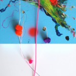 Giverny 34. 30 cm x 30 cm. Acrílico y mixta sobre lienzo. 2012.