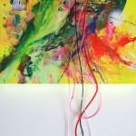 Giverny 37. 30 cm x 30 cm. Acrílico y mixta sobre lienzo. 2012.