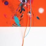 Giverny 40. 30 cm x 30 cm. Acrílico y mixta sobre lienzo. 2012.