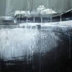 Huerta de Rey. 116 cm x 89 cm. Acrílico sobre lienzo. 2013.