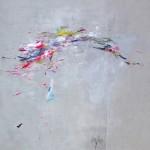 Incipiens. 195 x 195 cm. Mixta sobre lienzo. 2015