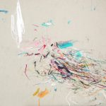 Nonsense 101. 30 x 30 cm. Mixta sobre cartón. 2015.
