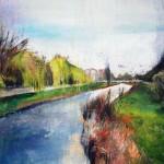 Sobre Burgos I. 100 cm x 65 cm. Acrílico sobre lienzo. 2011