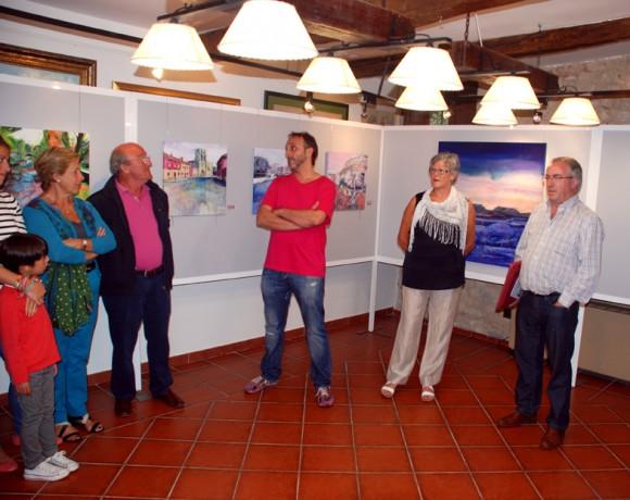 Con la presidenta de la Asociación Gloria y el alcalde de Villadiego III.