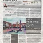 Fran Herreros toma las de Villadiego. Diario de Burgos, julio de 2013.
