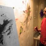 Pintando Le fleur IV.