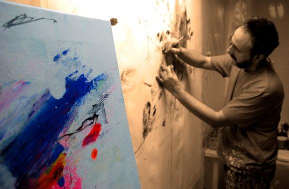 Pintando Le fleur V.
