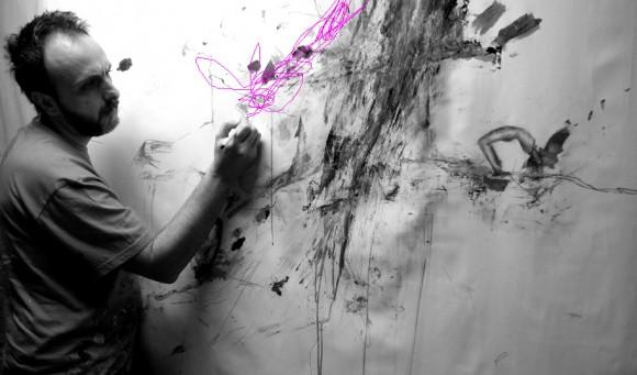 Pintando Le fleur VII.