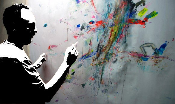 Pintando Le fleur VIII.