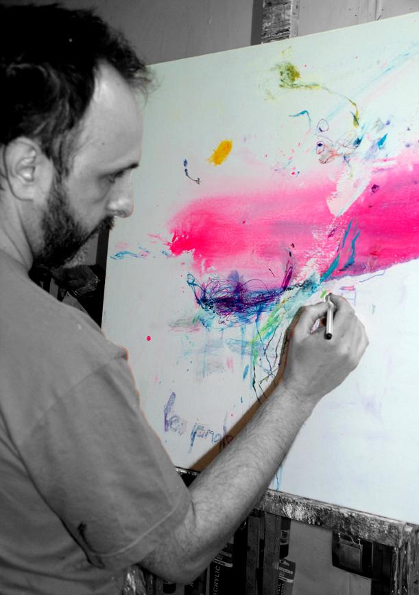 Pintando Le fleur XII.