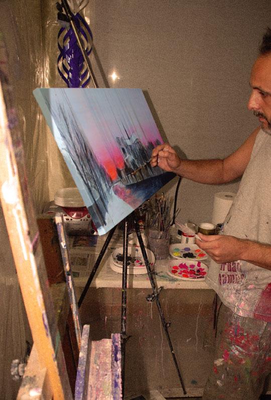 Pintando París III.