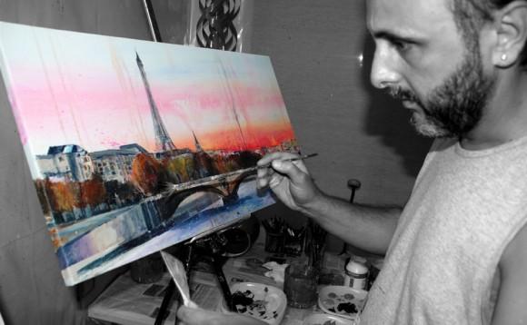 Pintando París V.