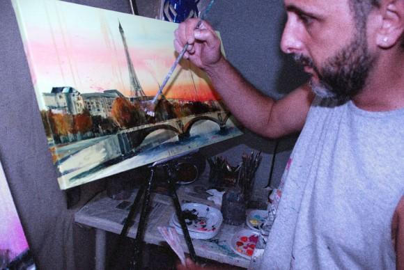 Pintando París X.