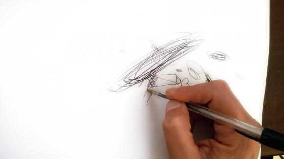Dibujando.