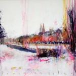 Melodía en silencio. 116 x 73 cm. Acrílico sobre lienzo. 2014