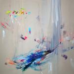 Nonsense 12. 180 x 180 cm. Mixta sobre lienzo. 2015
