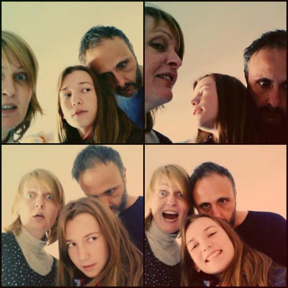 Paula, Elvira y Fran.