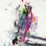 Poema de sueños XIV. 40 x 30 cm. Mixta sobre papel. 2014