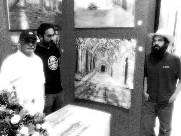 Portu, Carlos e Igor Torres.