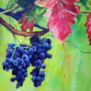 """Sentidos"". 180 x 180 cm. Mixta sobre lienzo."