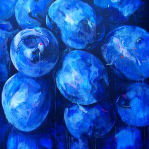 """""""Armonía"""". 180 x 180 cm. Mixta sobre lienzo."""