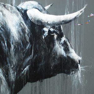 Rothko. 195 cm. x 195 cm. Mixta sobre lienzo. 2017