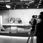 Estefanía y Fran en TV8.